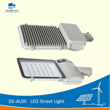 Bottom price for Led Solar Street Light DELIGHT DE-AL05 20W Lithium Battery Solar LED Lighting supply to Montenegro Factory