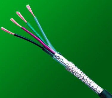 Fire resistant control cable