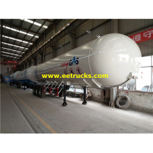 60 CBM LPG Gas Tank Semi-trailers