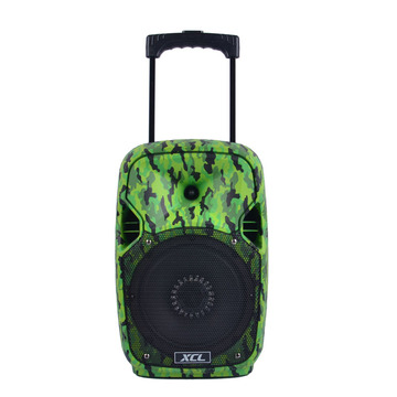 Mini portable rechargeable harga power amplifier speaker
