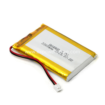 Dependable Performance 814865 3.7V 3300mAh Lipo Battery