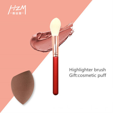 7Pcs Cosmetic Makeup Brush Set Imitation Wool Hair