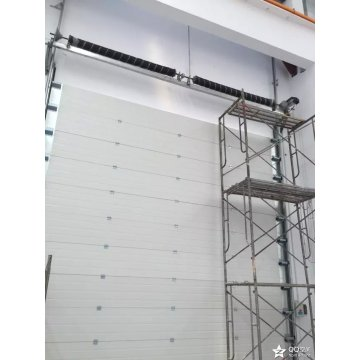 Aluminum Alloy Overhead Rolling Industrial lifting Door