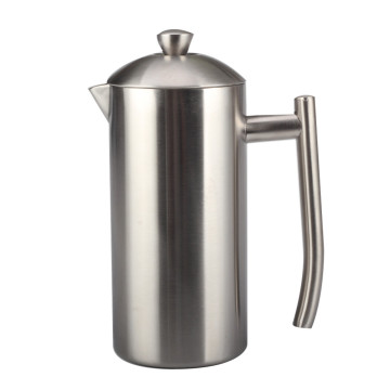 Double Walled Insulated Coffee & Tea Brewer Pot