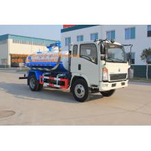 China for Vacuum Sewage Suction Truck Sinotruk light Vacuum Pump Sludge Truck export to Mayotte Factories