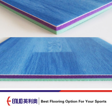 Indoor Futsal Sports Flooring With Plastic Flooing