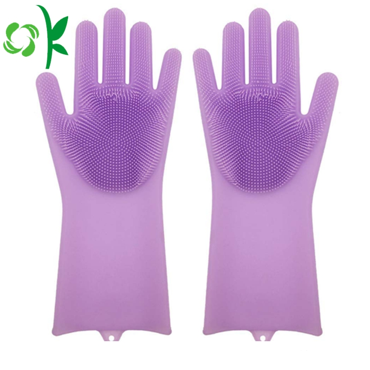 Silicone Brush Gloves