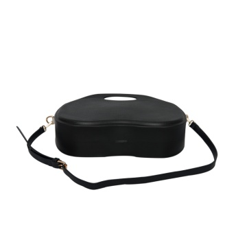 black shell EVA o style bags with handles
