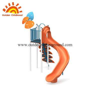 Single Orange Outdoor Playground Equipment For Sale