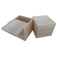 Wholesale custom cheap slider wooden box