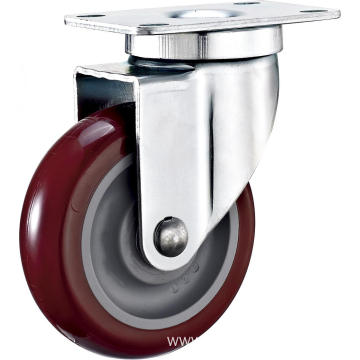 4'' Swivel Industrial PU Caster With PP Core