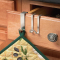 stainless steel over the cabinet hook 4pcs