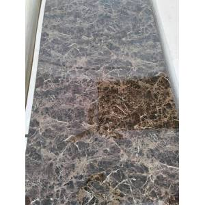 Factory provide nice price for Uv Pvc Marble Wall Panel UV Coating PVC Marble panel for Wall and Celing export to Guinea-Bissau Supplier