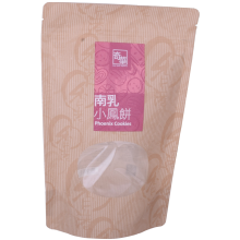 Customized Biodegradable Kraft Paper Bag with Window