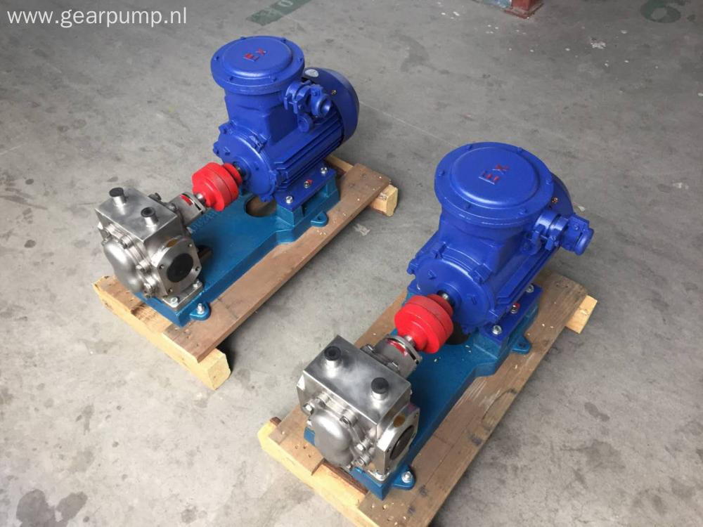 LQB high temperature bitumen transfer gear pump