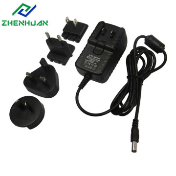 30W 12V 2,5A Multi Travel Adapter strømforsyning