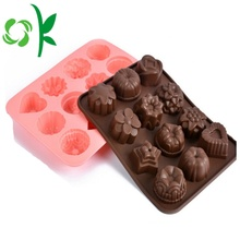Silicone birthday funny molds for chocolate bar molds