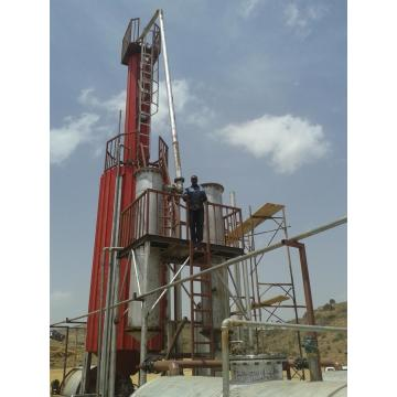 latest black oil refinery to diesel machine