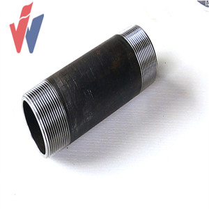 Quality Inspection for Barrel Nipple Pipe Fitting Cast Iron Pipe Nipple with NPT thread export to French Guiana Factories