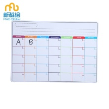 Magnetic Monthly Weekly Calendar Board