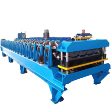 Top quality high-tech trapezoid iron roofing sheets roll forming machine