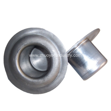 Belt Conveyor Idler Roller Round Flange Bearing Housing