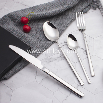 Restaurant Cutlery Stainless Steel  Wedding Dinnerware Set