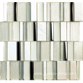 marble stainless steel and glass mosaic
