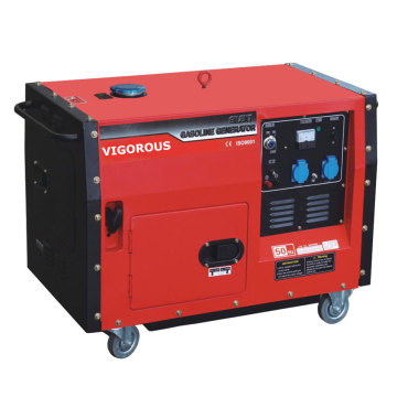 Good Quality Silent Type 4.5KW Gasoline Generator