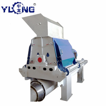 YULONG GXP75 * 55 acacia wood chips hammer mill