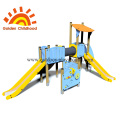 Kids Tube Bridge Outdoor Slide Equipment For Children