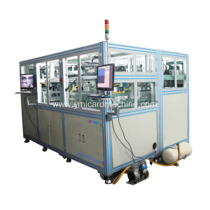 Full Auto Smart Card Sheet Trimming Machine