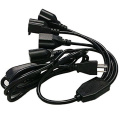 1 to 4 power extension cord splitter cable
