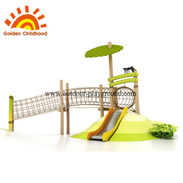 Wooden playground forts for garden
