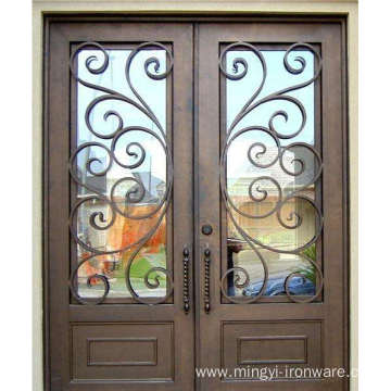 China for Wrought Iron Doors 2019 Hot Sale Exterior Security Iron Door supply to Tokelau Exporter