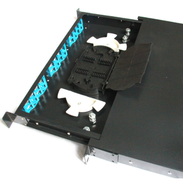 1U 19 Inch SC 24 Port Patch Panel