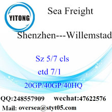 Shenzhen Port Sea Freight Shipping To Willemstad