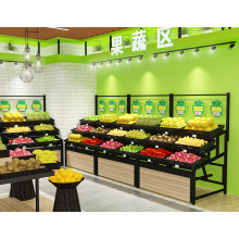 Leading for Fruit Display Stand Single-Sided High Quality Fruit Rack export to Sudan Wholesale
