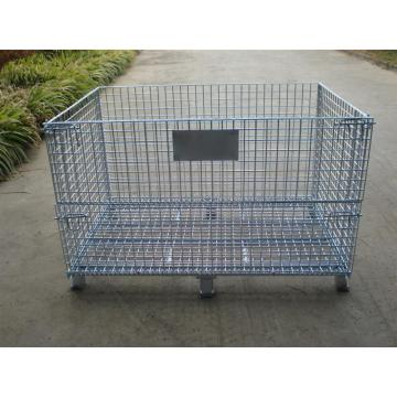 Storage and Transport Metal Mesh Box