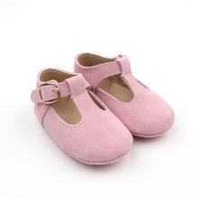 Soft Sole Leather T Bar Girl Dress Shoes