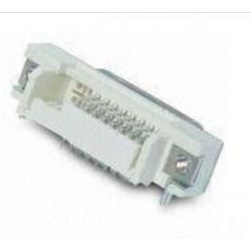 DVI 24+1 Female Angle DIP Connector