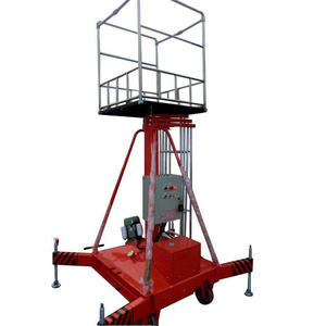 High definition for Adjustable Telescopic Cylindrical Lift 6m Hydraulic Telescopic Cylindrical Lift Elevator Platform supply to Fiji Importers