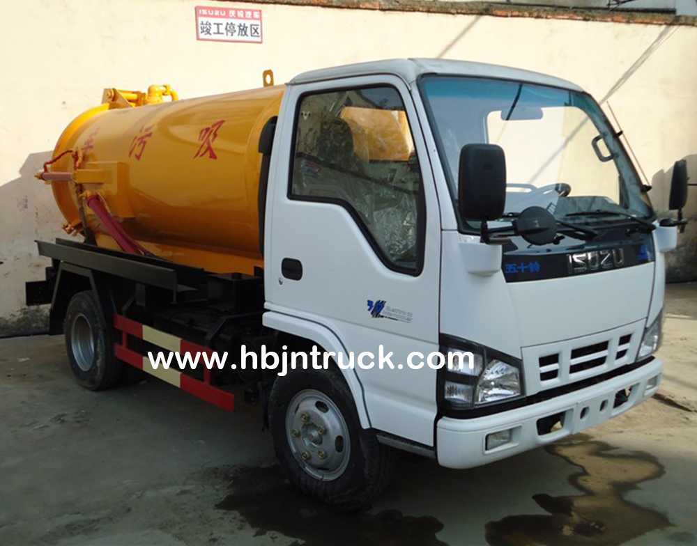 Isuzu sewer truck for sale