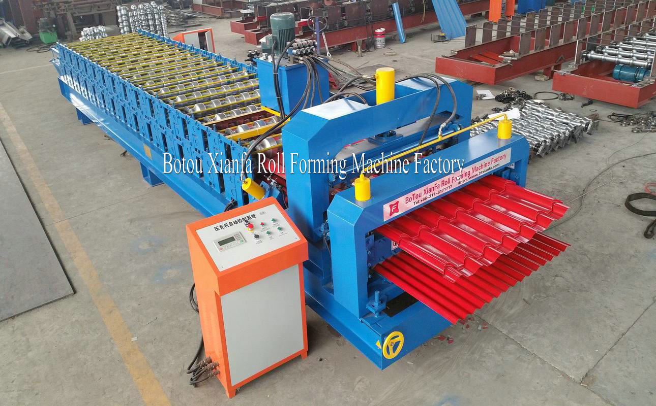 Corrugated and Glazed Tile Machine
