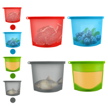Silicone Food Safe Fridge Preservation Storage Bag
