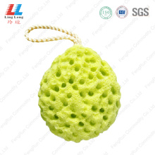 water drop style bath sponge
