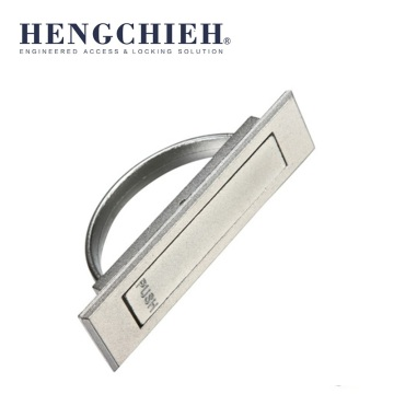 ZDC Chrome-plating Press Switch Cabinet Handles