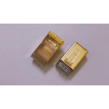 Cat5 UTP RJ45 10p10c Conector de red