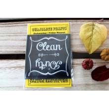 Clean Dirty Dishwasher Magnet black chalkboard