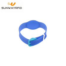 Factory For for Personalized Rubber Bracelets Bulk order PVC Adjustable Rfid Swimming Pool Wristband supply to Hungary Factories